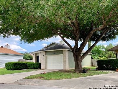 San Antonio Single Family Home Active Option: 5606 Spring Moon St