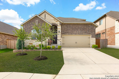 Bexar County Single Family Home New: 9844 Jon Boat Way