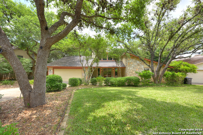 San Antonio Single Family Home New: 14302 Ben Brush St