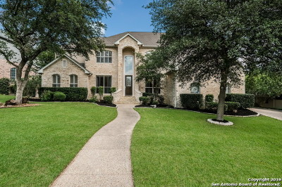 Stone Oak Single Family Home New: 2006 Cactus Bluff