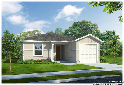 San Antonio Single Family Home New: 6436 Legato Curve