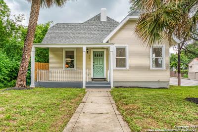 San Antonio Single Family Home New: 901 W Woodlawn Ave