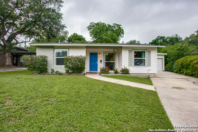 San Antonio Single Family Home New: 119 Sheila Dr