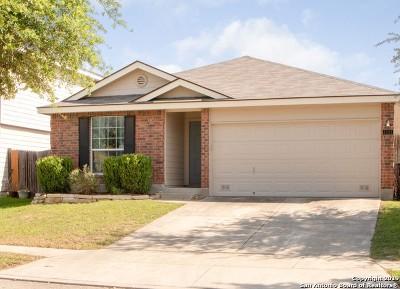 San Antonio Single Family Home New: 11111 Buckskin Bend