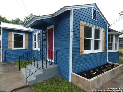 San Antonio Single Family Home New: 314 Ward Ave