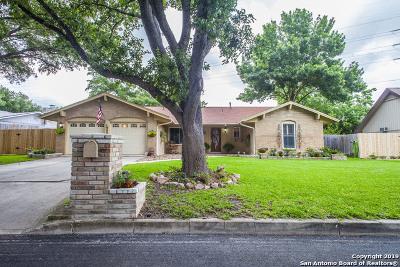 Windcrest Single Family Home New: 5814 Windvale Dr
