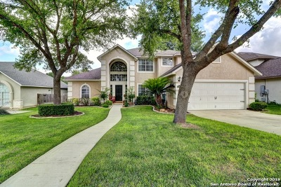 Cibolo Single Family Home Active Option: 116 Brush Trail Bend