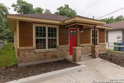 San Antonio Single Family Home New: 2932 Chihuahua St