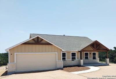 Canyon Lake Single Family Home New: 423 Prairie Tea