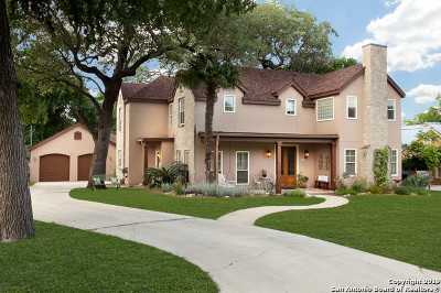 Boerne Single Family Home New: 214 W Hosack St