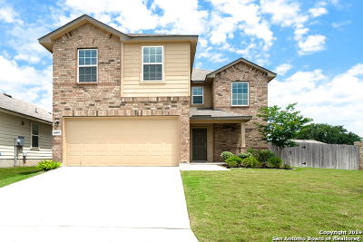 Bexar County Single Family Home New: 14009 Shivers Cove