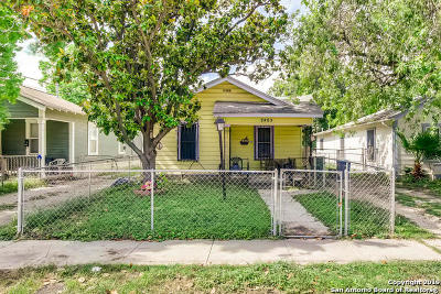 San Antonio Single Family Home New: 2405 W Cesar E Chavez Blvd