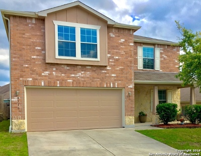 Bexar County Single Family Home New: 9510 Lookover Bay