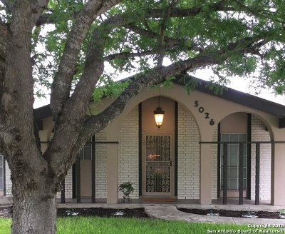 San Antonio Single Family Home New: 5026 Northfield Dr