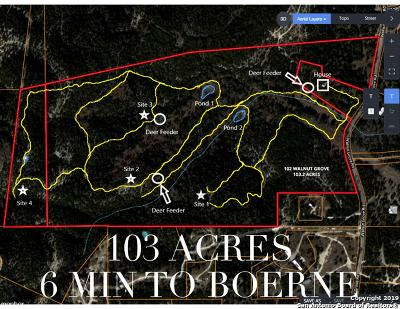 Boerne Farm & Ranch For Sale: 102 Walnut Grove Rd