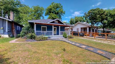 San Antonio Single Family Home New: 607 Saint James