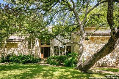 San Antonio Single Family Home New: 13810 Bluffcircle