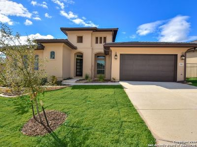 San Antonio Single Family Home New: 19415 Bella Flor
