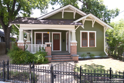 San Antonio Single Family Home For Sale: 322 Simon