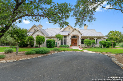 Boerne Single Family Home New: 6 River Crossing