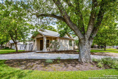 Boerne Single Family Home New: 121 North St