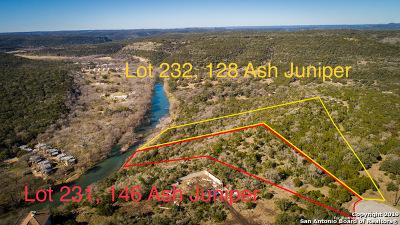 New Braunfels Residential Lots & Land New: Lot 231, 232 Ash Juniper Dr