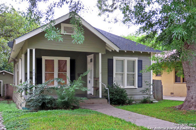 San Antonio Single Family Home Active Option: 226 Normandy Ave