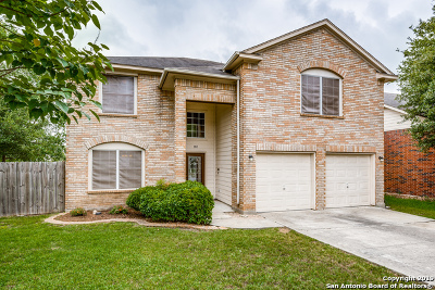 Cibolo Single Family Home New: 181 Spice Oak Ln