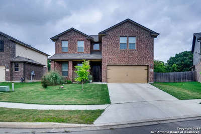 Converse Single Family Home New: 8731 Indian Bluff