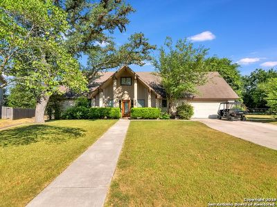Boerne Single Family Home New: 214 Chaparral Creek Dr