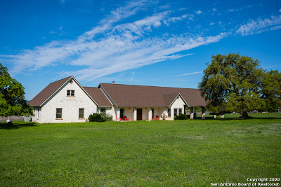 Bandera Farm & Ranch For Sale: 1675 Elm Pass Rd