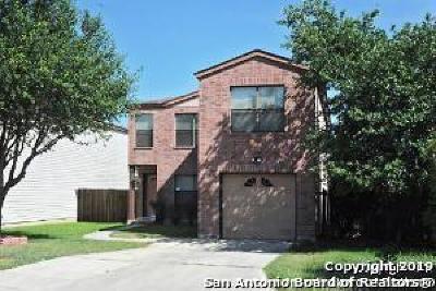 San Antonio Single Family Home New: 3761 Candlebluff Dr