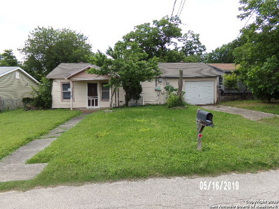 San Antonio Single Family Home New: 230 Colfax Street
