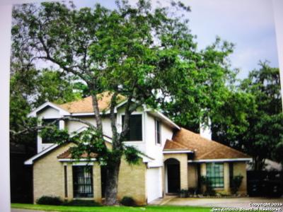 San Antonio Single Family Home New: 8128 Oak Island Dr