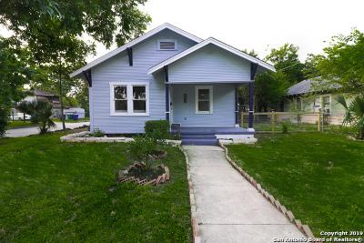 San Antonio Single Family Home New: 327 McMullen St