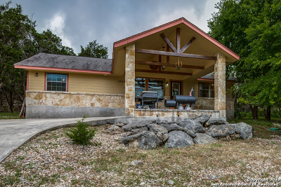 Canyon Lake Single Family Home New: 1548 Valley Forest