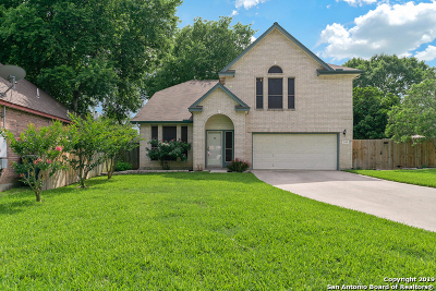 Cibolo Single Family Home Price Change: 246 Tapwood Ln