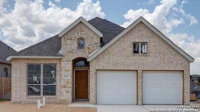 San Antonio Single Family Home New: 2311 Calate Ridge