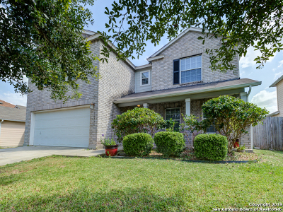 Converse Single Family Home New: 10323 Red Iron Creek