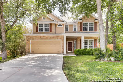 Stone Oak Single Family Home New: 279 Red Hawk Ridge