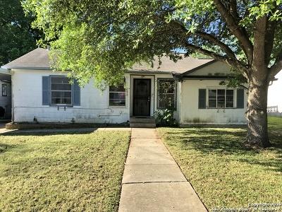 San Antonio Single Family Home New: 630 Glamis Ave