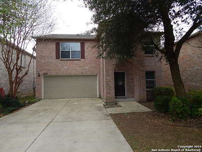 San Antonio Single Family Home New: 13222 Solar Crest