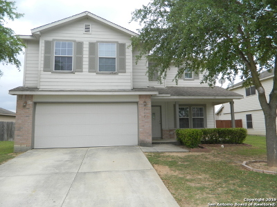 Schertz Single Family Home Price Change: 217 Stampede Rnch