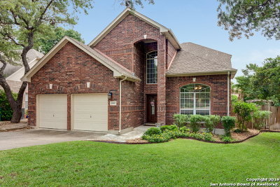 San Antonio Single Family Home New: 15002 Stonetower Dr