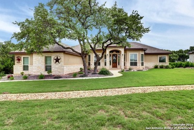 Canyon Lake Single Family Home New: 3118 Comal Spgs