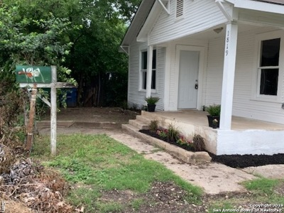 San Antonio Single Family Home Back on Market: 1819 Santiago St