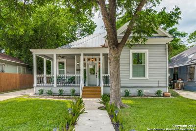 San Antonio Single Family Home New: 721 Saint James