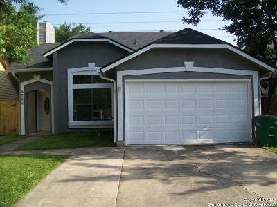 San Antonio Single Family Home New: 5706 Glacier Sun Dr