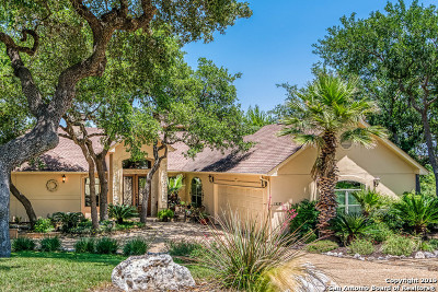 San Antonio Single Family Home For Sale: 19202 Habitat Cove
