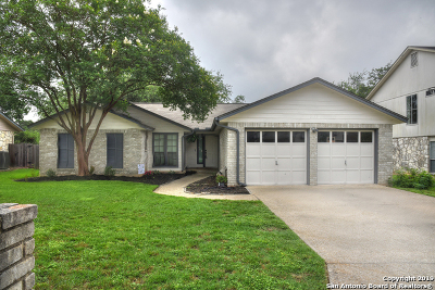 Bexar County Single Family Home New: 2122 Oak Ranch